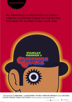 Clockwork Orange Red Art Maxi Poster