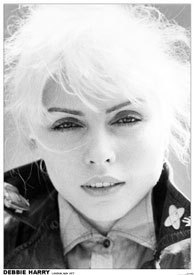 Debbie Harry Blondie London May 1977 A1 paper punk rock poster