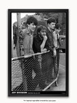 Black Framed - Joy Division - Stockport Barrier 1979 - A1 Poster