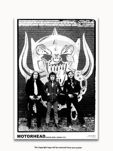 Laminated - Motorhead - A1 Heavy Metal Poster