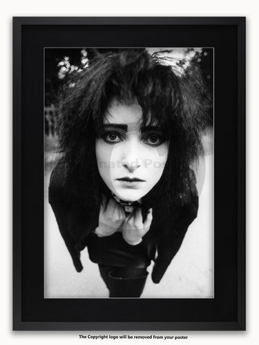 Framed with BLACK mount Siouxsie & The Banshees - Holland Park 1981 - A1 Poster