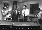 Black Framed - Rat Pack Pool Maxi Poster