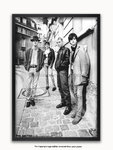 Black Framed - The Smiths - Montmartre 1984 - A1 Rock Poster