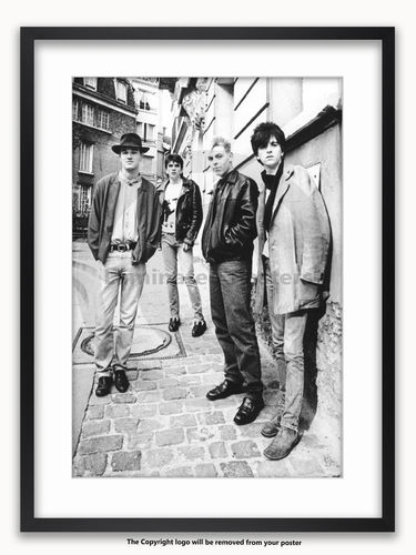 Framed with WHITE mount The Smiths - Montmartre 1984 - A1 Rock Poster
