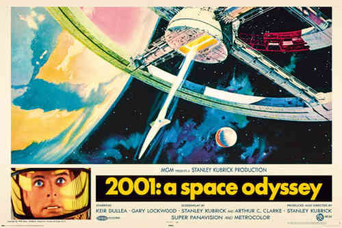 2001 A Space Odyssey - Art -  Maxi Paper Poster