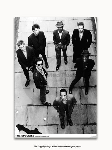 The Specials - Coventry March 1979 - A1 Laminated Poster
