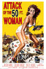 Attack Of The 50 Ft Woman - Maxi Paper Poster