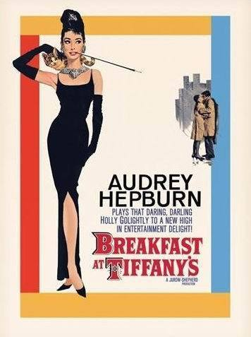 Audrey Hepburn - Breakfast at Tiffany's Promo - Maxi Paper Poster