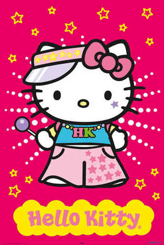 Hello Kitty - Raver Maxi Paper Poster