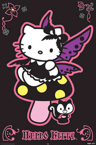Hello Kitty - Gothic Maxi Paper Poster