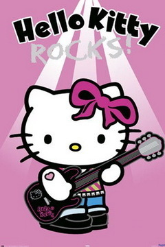 Hello Kitty - Rocks Maxi Paper Poster