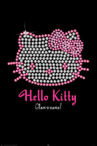 Hello Kitty - Bling Maxi Paper Poster