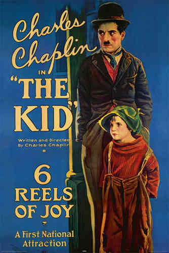 Laminated - Charlie Chaplin - The Kid - Maxi Poster