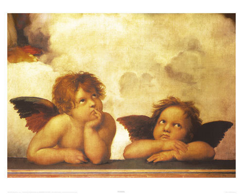 Raphael Angels - Mini Paper Poster