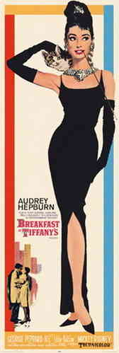 Breakfast at Tiffany's Col Promo - Door Paper Poster