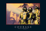 Courage Fire Fighters - Maxi Paper Poster