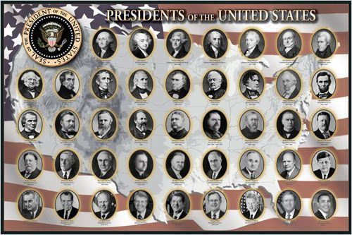 Black Framed - Presidents of the United States - Maxi Poster