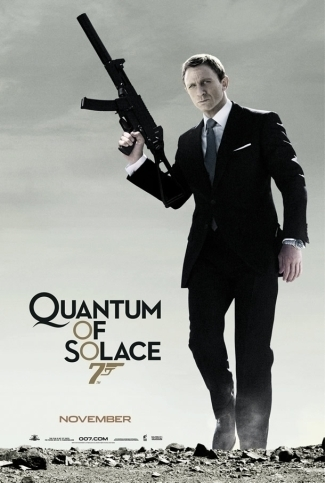 Quantam Solice James Bond, Daniel Graig Teaser - Giant Paper Poster
