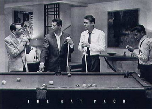 The Rat Pack Pool - Giant Paper Poster