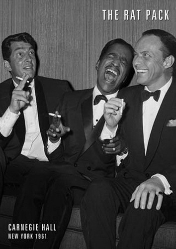 The Rat Pack Laughter - Giant Paper Poster