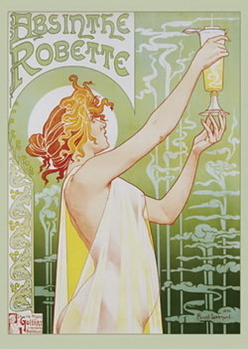 Absinthe Robette - Giant Paper Poster