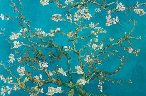 Van Gogh Almond Blossom - Giant Paper Poster