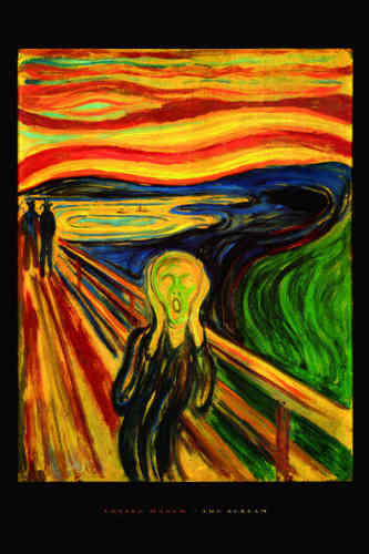 The Scream - Edvard Munch - Maxi Paper Poster