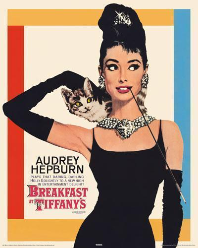 Audrey Hepburn - Breakfast At Tiffany's - Mini Paper Poster