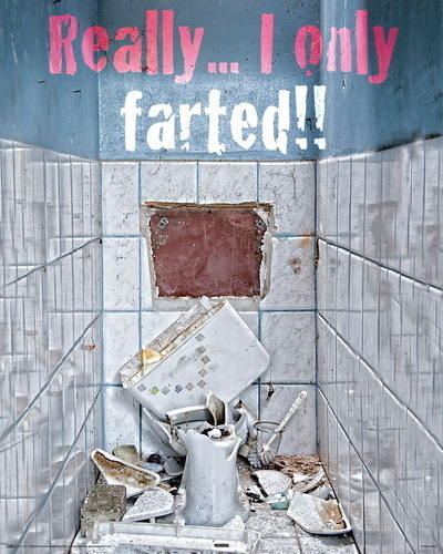 Really... I only farted!!! - Mini Paper Poster