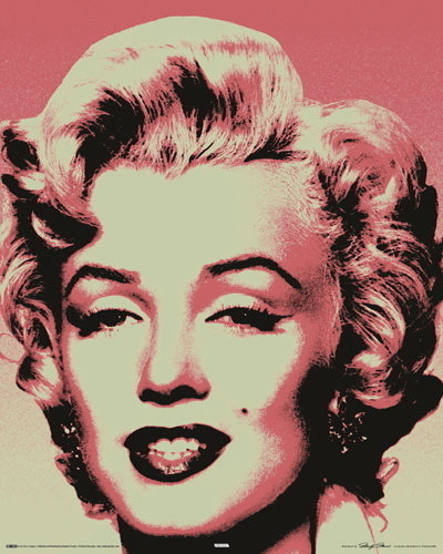 Marilyn Monroe Pop Art - Mini Paper Poster