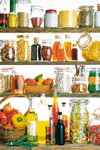 Kitchen Cupboard - Maxi Paper Poster