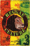 Blockmounted - Reggae Culture  - Zion Lion - Maxi Poster