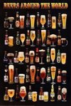 Beers of the world - Maxi Paper Poster