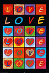 Laminated - Love Hearts, Pop Art - Maxi Poster