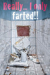 Toilet - Really... I only Farted!!! - Maxi Paper Poster