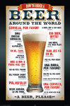 Beers Please - Maxi Paper Poster
