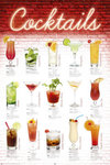 Cocktails English - Maxi Paper Poster