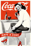 Coca Cola Girl Have A Coke  - Maxi Paper Poster