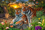 Hidden Tigers - Art - H - Maxi Paper Poster