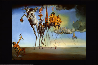 Salvador Dali - Temptation St Anthony Maxi Paper Poster