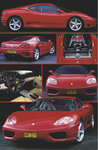 Ferrari 360 Modena Red Sports Car 6 pics V Maxi Paper Poster