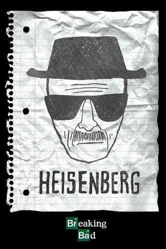 Breaking Bad Heisenberg Wanted - Maxi Paper Poster