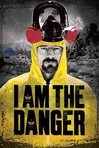 Breaking Bad I Am the Danger - Maxi Paper Poster