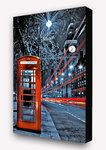 London Red Telephone Box - Block Mounted