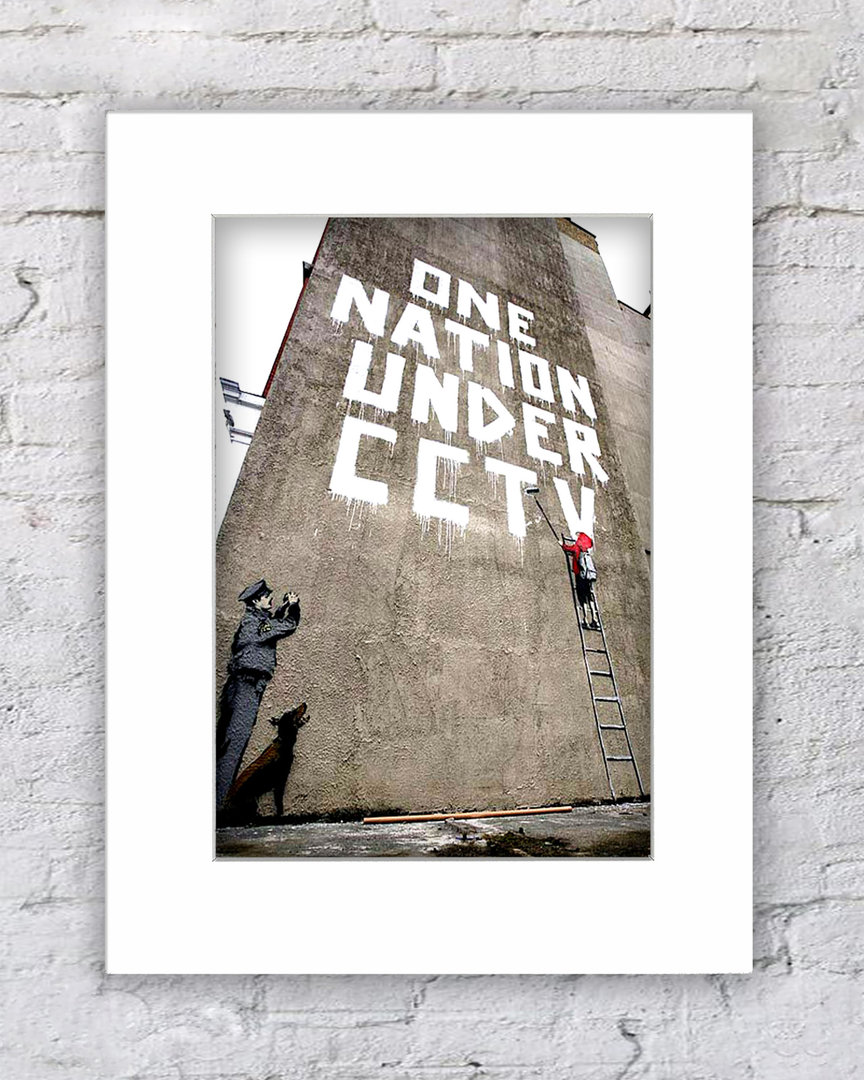 Banksy CCTBanksy One Nation Under