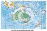 Australasia Map - 2015 Edition - Paper Poster