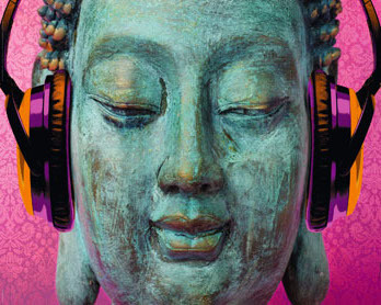 Michael Tarin - Buddha Music Chill - Mini Paper Poster