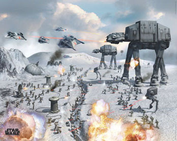 Star Wars - Vehicles Hoth - Robot Wars - Mini Paper Poster
