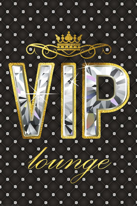 VIP Lounge II - Maxi Paper Poster