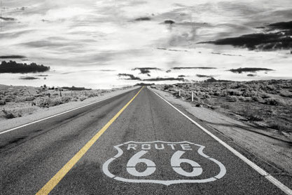 Route 66 Endless Road - Maxi Paper Poster